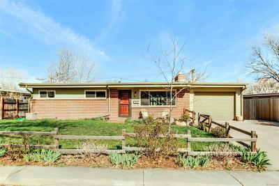 Arvada Single Family Home Under Contract: 5906 Estes Street