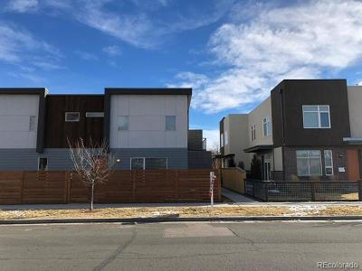 Denver Condo/Townhouse Active: 3466 Albion Street