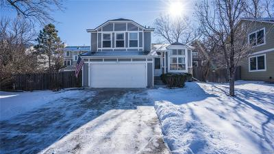 Castle Rock Single Family Home Under Contract: 5501 East Courtney Avenue