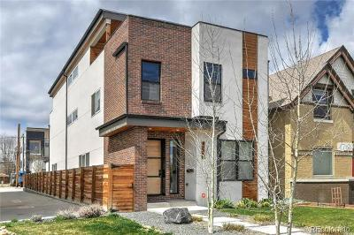 Denver Single Family Home Active: 1717 Hooker Street