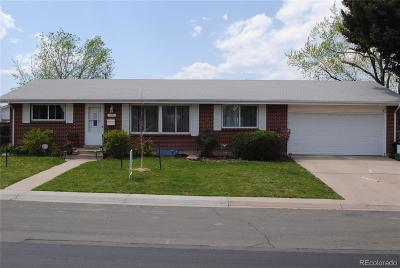 Littleton Single Family Home Under Contract: 6391 South Williams Street