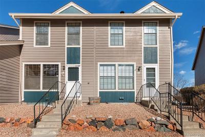 Northglenn Condo/Townhouse Under Contract: 11554 Community Center Drive #28