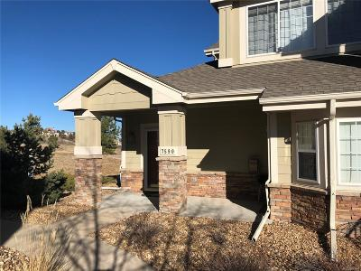 Castle Pines Condo/Townhouse Sold: 7590 Pineridge Trail