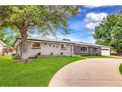 Denver Single Family Home Active: 5902 West Green Meadows Place