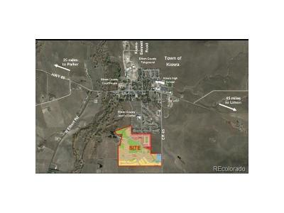 Kiowa Residential Lots & Land Active: County Road 45