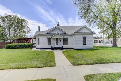 Greeley Single Family Home Under Contract: 1928 8th Street