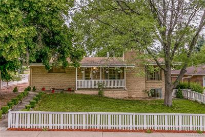 Wheat Ridge Single Family Home Under Contract: 3190 Harlan Street