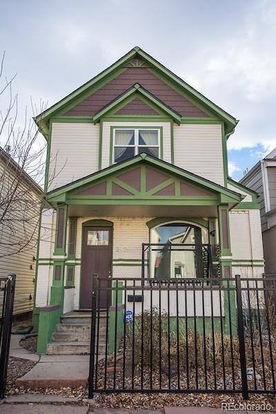 Denver Single Family Home Under Contract: 2425 Clarkson Street