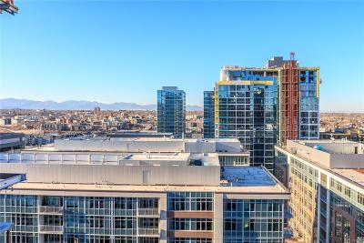 Denver Condo/Townhouse Active: 1750 Wewatta Street #1821
