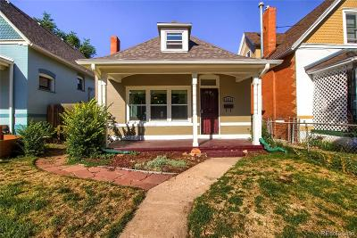 Denver Single Family Home Active: 3317 North High Street