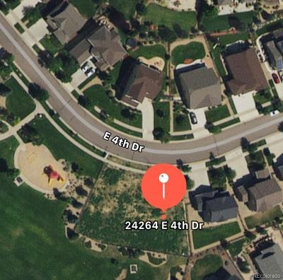 Arapahoe County Residential Lots & Land Active: 24264 East 4th Drive