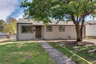 Aurora Single Family Home Under Contract: 1120 Galena Street