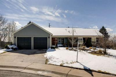 Centennial Single Family Home Active: 7284 East Hinsdale Place