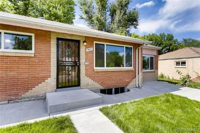Denver CO Single Family Home Active: $394,000