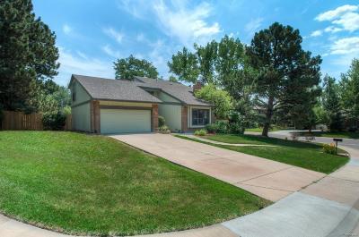 Centennial CO Single Family Home Under Contract: $525,000