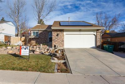 Arvada Single Family Home Under Contract: 5935 West 74th Avenue
