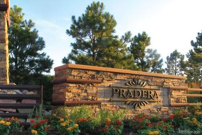 Parker Residential Lots & Land Active: 5031 Rialto Drive