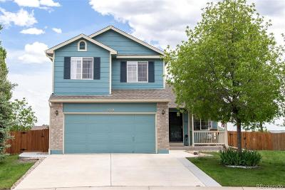 Castle Rock Single Family Home Active: 732 Quarterhorse Trail