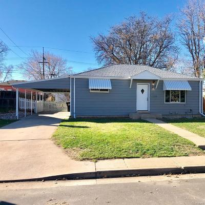 Denver Single Family Home Under Contract: 1241 South Zuni Street