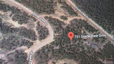 Residential Lots & Land Under Contract: 751 Divide View Drive