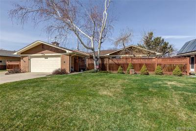 Wheat Ridge Single Family Home Active: 3885 Ammons Street