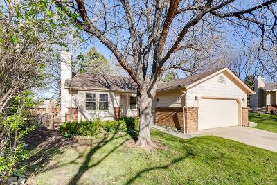 Highlands Ranch Single Family Home Under Contract: 100 Grouse Place