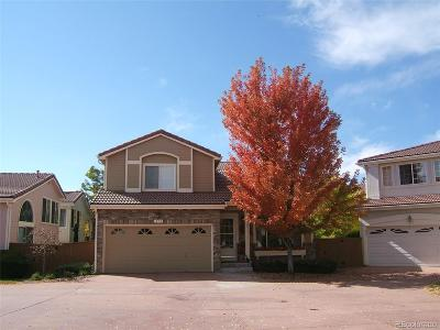 Highlands Ranch Single Family Home Under Contract: 1459 Laurenwood Way