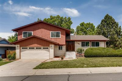Denver Single Family Home Active: 7623 East Bates Drive