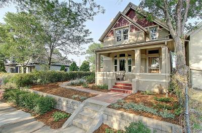 Denver Single Family Home Active: 3923 Kalamath Street