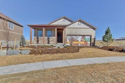 Castle Rock Single Family Home Under Contract: 5911 Echo Park Circle