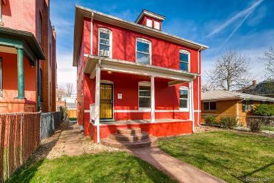 Denver Single Family Home Active: 1149 Lipan Street