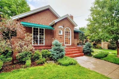 Denver Single Family Home Active: 2050 Forest Street
