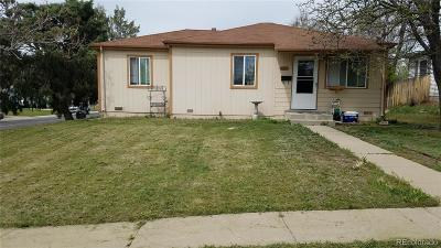 Thornton Single Family Home Active: 8961 Gaylord Street