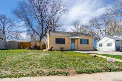 Denver Single Family Home Active: 2125 South Hazel Court