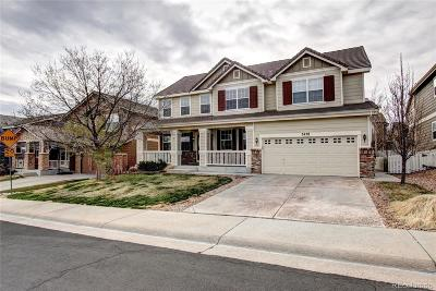 Castle Rock Single Family Home Under Contract: 3478 Springmeadow Circle