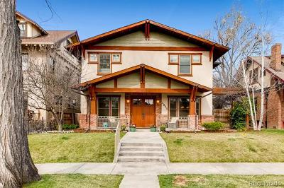 Denver Single Family Home Active: 1835 Bellaire Street