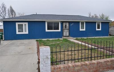 Commerce City Single Family Home Under Contract: 7771 Idlewild Street