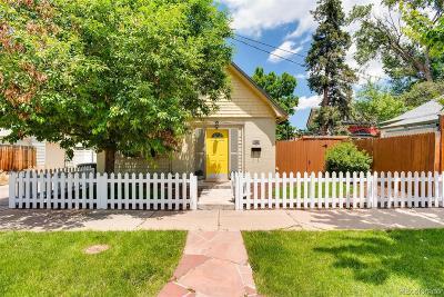 Denver Single Family Home Active: 4045 West 41st Avenue