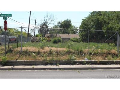 Aurora Residential Lots & Land Active: 1392 Akron Street