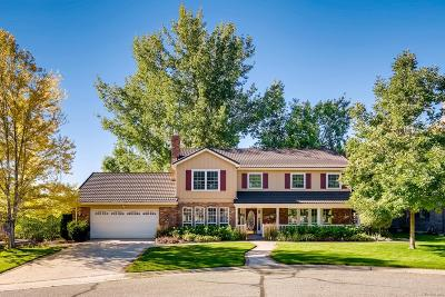 Littleton Single Family Home Under Contract: 4960 West Fair Place