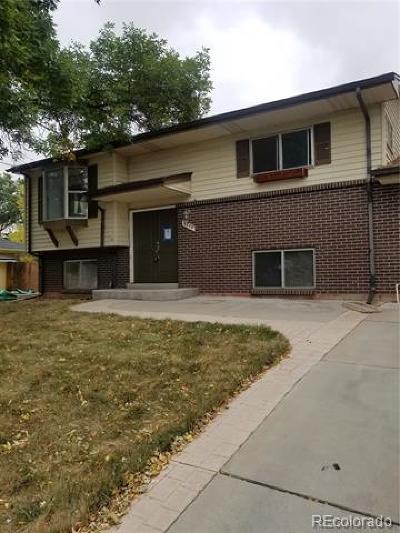 Arvada Single Family Home Active: 6099 Vivian Street