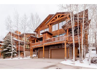Steamboat Springs Condo/Townhouse Active: 3001 Mountaineer Circle
