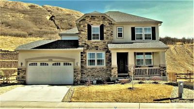 Castle Rock Single Family Home Under Contract: 3276 McCracken Lane