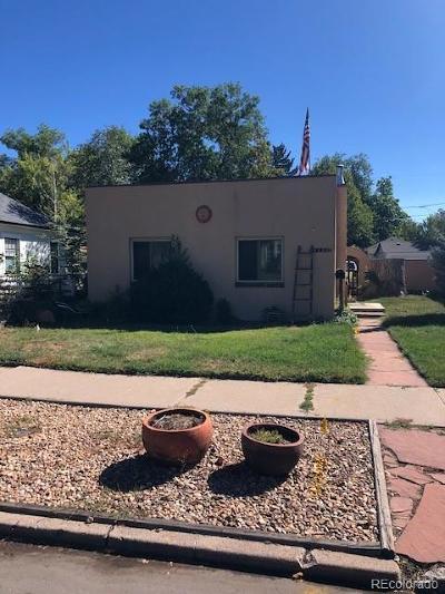 Denver CO Single Family Home Active: $485,000