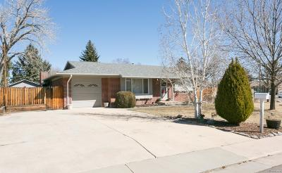 Littleton Single Family Home Under Contract: 8693 West Burgundy Drive