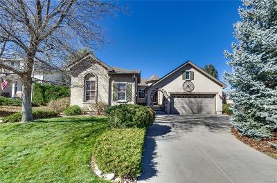 Castle Rock Single Family Home Under Contract: 4686 Springmeadow Lane