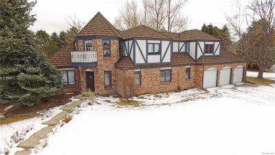Englewood Single Family Home Under Contract: 11026 East Crestline Circle