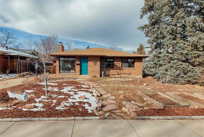 Boulder Single Family Home Under Contract: 219 29th Street