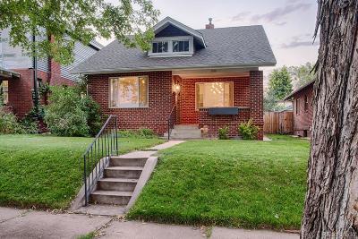 Denver Single Family Home Active: 4621 West 30th Avenue