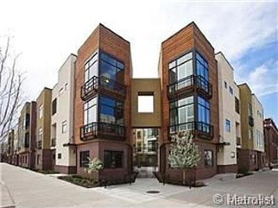 Denver Condo/Townhouse Active: 2345 Walnut Street #27